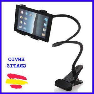 Soporte Tablet Qwdq soporte Universal Para Tablet Metalico Con Pinza Para Mesa Coche