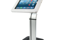 Soporte Tablet Rldj Tsclk14 soporte Base Kiosko Pedestal Universal Seguridad Antirrobo