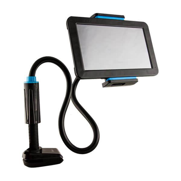 Soporte Tablet S1du soporte Universal Para Tablet Flexible Y Con Sujecià N De Rosca Negro