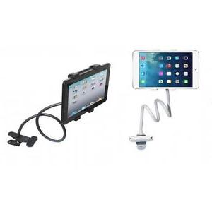 Soporte Tablet Zwd9 soporte Universal Flexible Para Tablet Con Pinza En Mesa Cama Ebay
