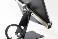 Soportes Tablet Kvdd Base soporte Seguridad Tablets Chicote Acero Llave Chapa