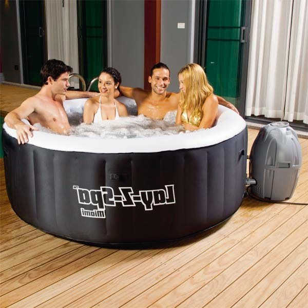 Spa Hinchable 0gdr Spa Hinchable Portà Til Bestway Lay Z Miami 180×65 Cm 359 00