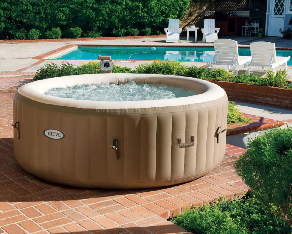 Spa Hinchable Drdp Spa Hinchable Intex Purespa Bubble therapy