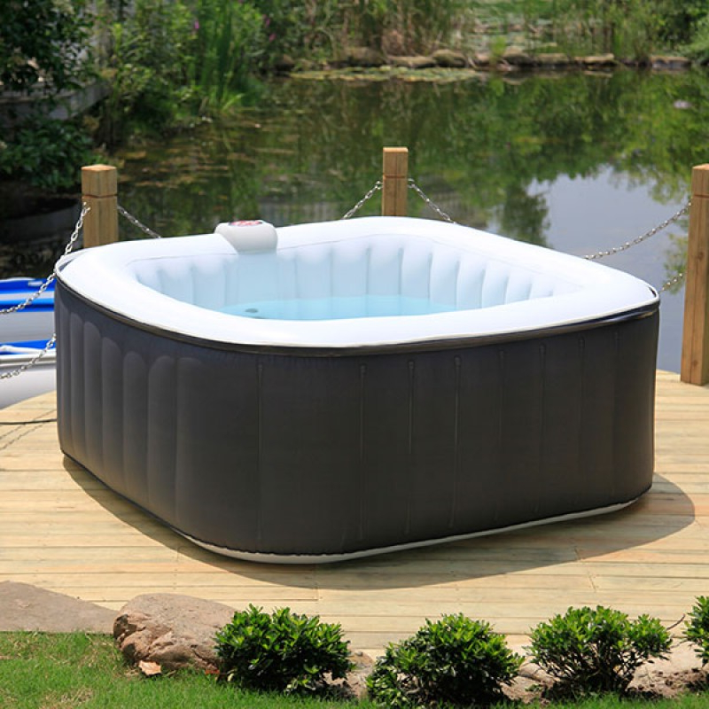 Spa Hinchable E9dx Spa Hinchable Carre Outlet Piscinas