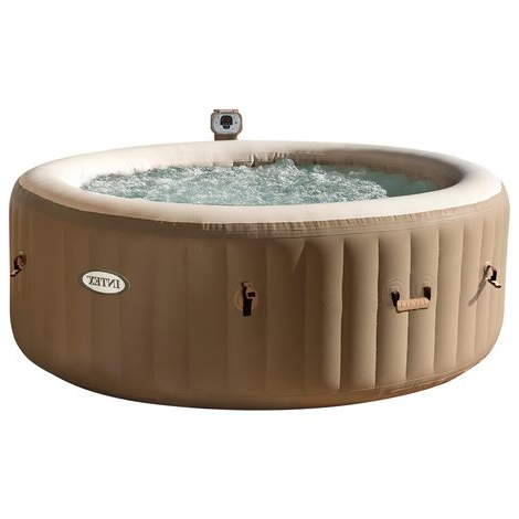 Spa Hinchable Fmdf Spa Hinchable En Crema Para 4 Personas Tienda Oficial Intex
