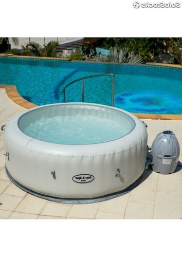 Spa Hinchable Ipdd Spa Hinchable Con Luz Led Lay Z Spa Paris