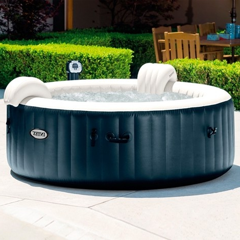 Spa Hinchable Zwd9 Spa Hinchable Intex Purespa Burbujas Para 4 Personas Spas Y Piscinas