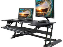 Standing Desk 87dx Vivo Height Adjustable Standing Desk Sit to Stand Gas