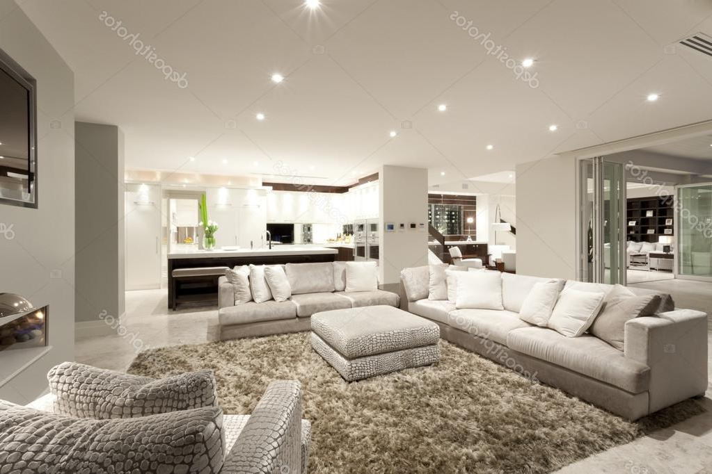 Stock sofas Mndw Cozy Living Room with Spacious sofas Stock Photo  Jrstock1