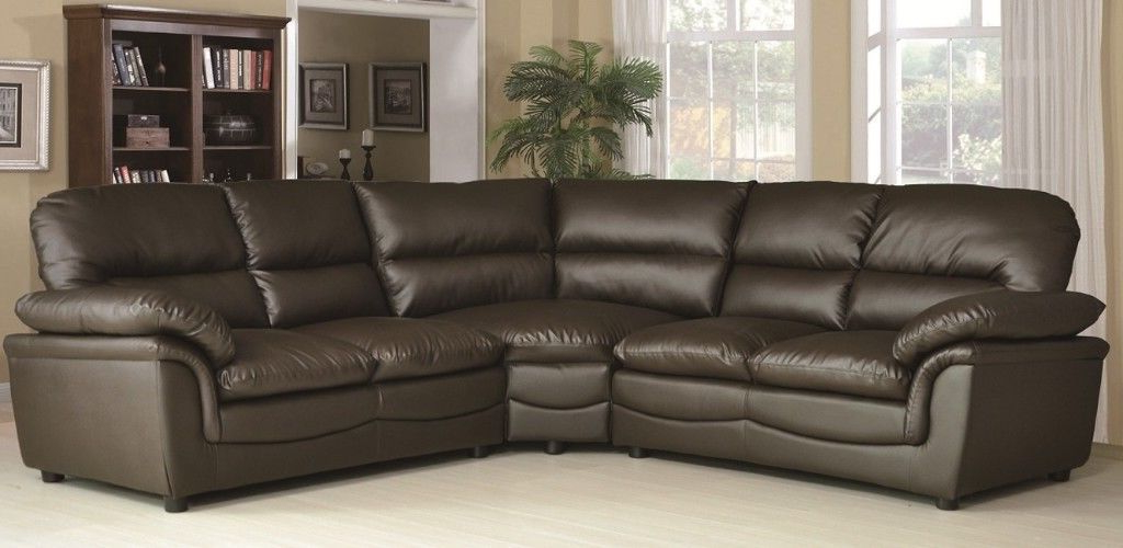 Stock sofas S1du Half Price Leather Corner Group sofas In Stock Grey Black