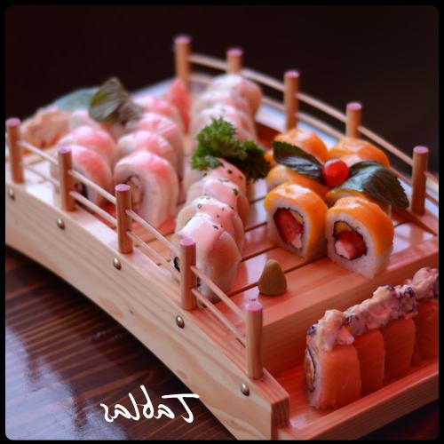 Sushi Las Tablas Budm Sushi Sake Tablas