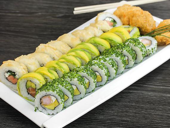 Sushi Las Tablas Nkde Tabla 36 Piezas
