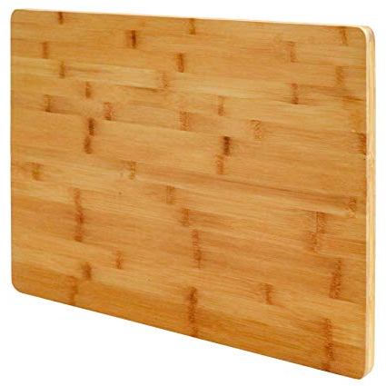 Tabla Cocina 9fdy Pra Eyepower Xl Tabla De Cortar De Bambú 50x35x2cm Tabla De