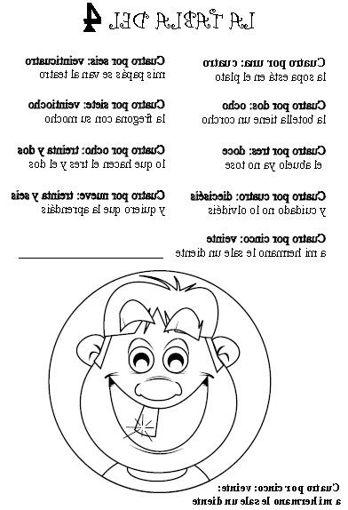 Tabla Del 4 Ffdn Aprendemos Disfrutando En 3º Poesà A Tabla Del 4