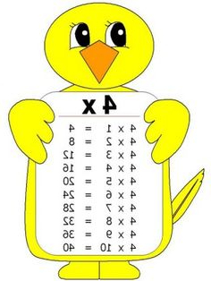 Tabla Del 4 Fmdf 27 Mejores Imà Genes De Tabla De Multiplicar Learning Learning