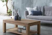 Table Basse Etdg Table Basse En Teck Tables Basses 100×60 Eve Chez Tikamoon