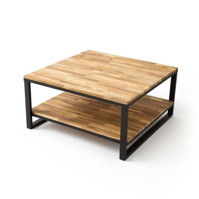 Table Basse Irdz Table Basse Carrà E Double Plateau Chêne Hiba Naturel La Redoute