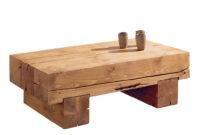 Table Basse Jxdu Table Basse Poutre En Pin Massif Aux Lignes à Purà Es