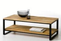 Table Basse T8dj Table Basse Chêne Et Acier Hiba Naturel La Redoute Interieurs La