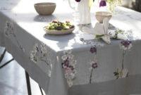 Table Cloth H9d9 Designer Tablecloths Gray Linen Elegant Tablecloth Positano