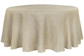 Table Cloth Qwdq Burlap 120 Round Tablecloth Natural Tan Cv Linensâ