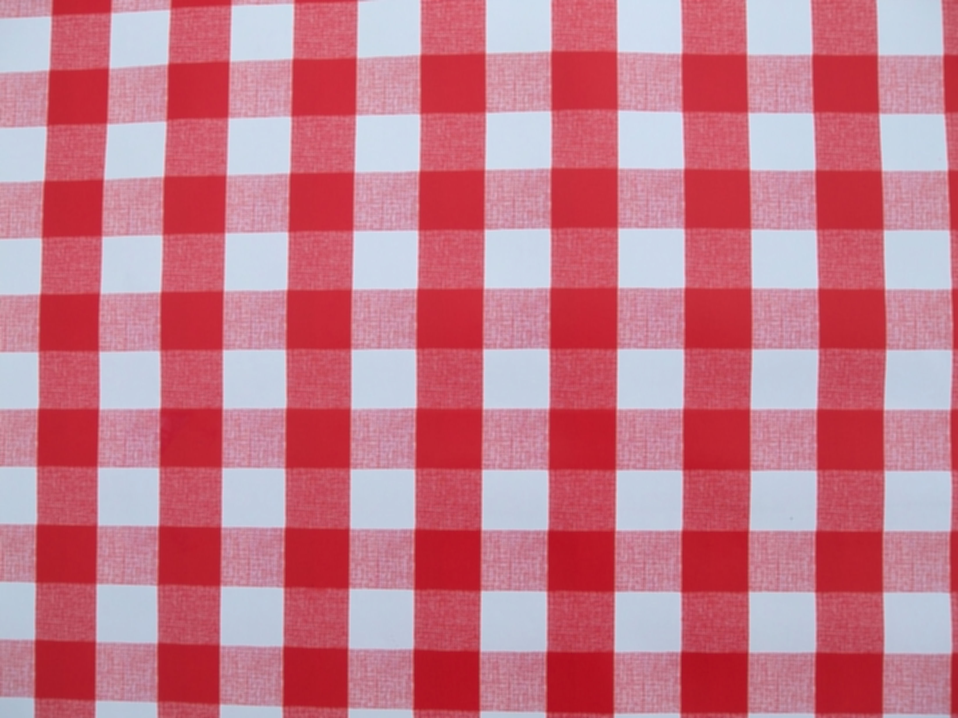 Table Cloth S5d8 Square Wipe Clean Tablecloth with Parasol Hole Red Gingham the