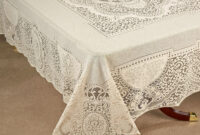 Table Cloth Txdf Canterbury Classic Lace Oblong Tablecloth