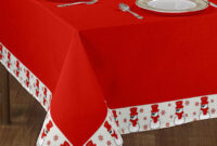 Table Cloth Whdr Christmas Border Printed Table Cloth at Rs 332 Piece Christmas