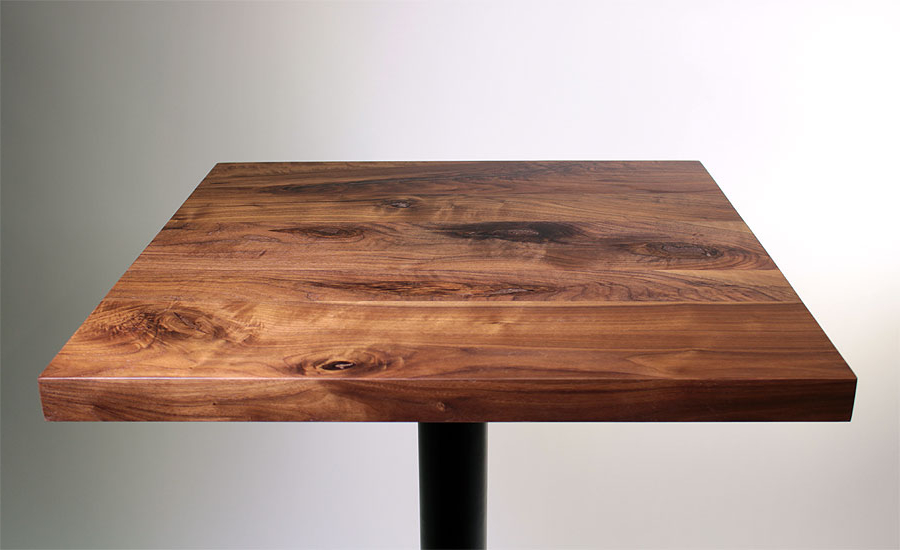 Table top Dwdk Rustic Walnut Restaurant Table top Sir Belly