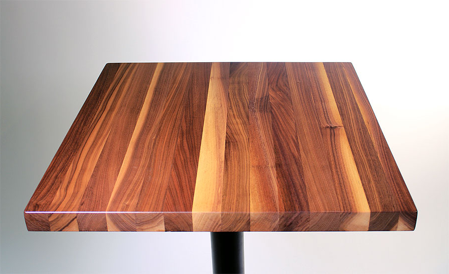 Table top Irdz Walnut butcher Block Restaurant Table tops Sir Belly