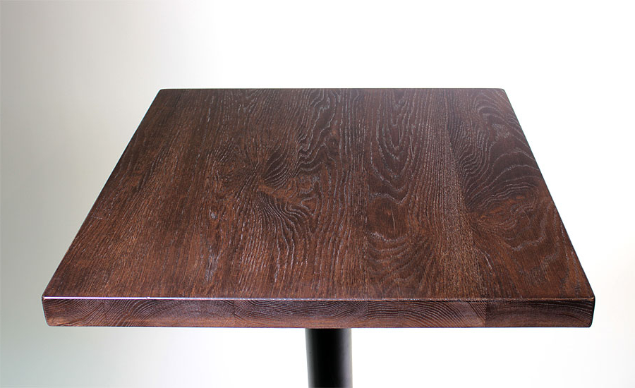 Table top Nkde solid Hickory Restaurant Table top with Stain Sir Belly