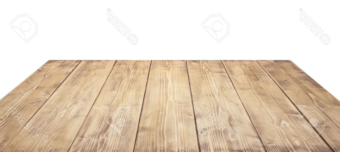 Table top Thdr Wooden Table top isolated On White Background Stock Photo Picture