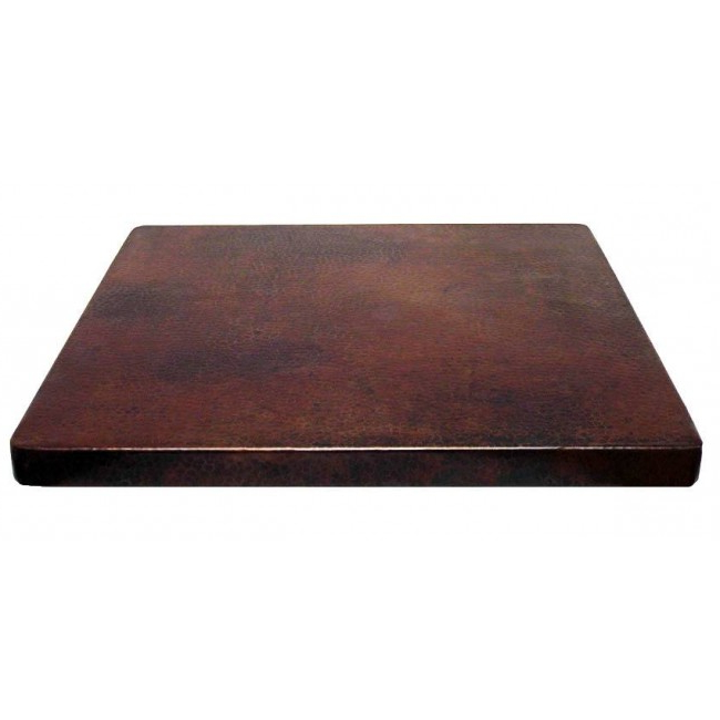 Table top Tqd3 Square Copper Table top