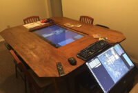 Table top X8d1 D D Group Builds Custom Digital Tabletop with 4k touchscreen Polygon