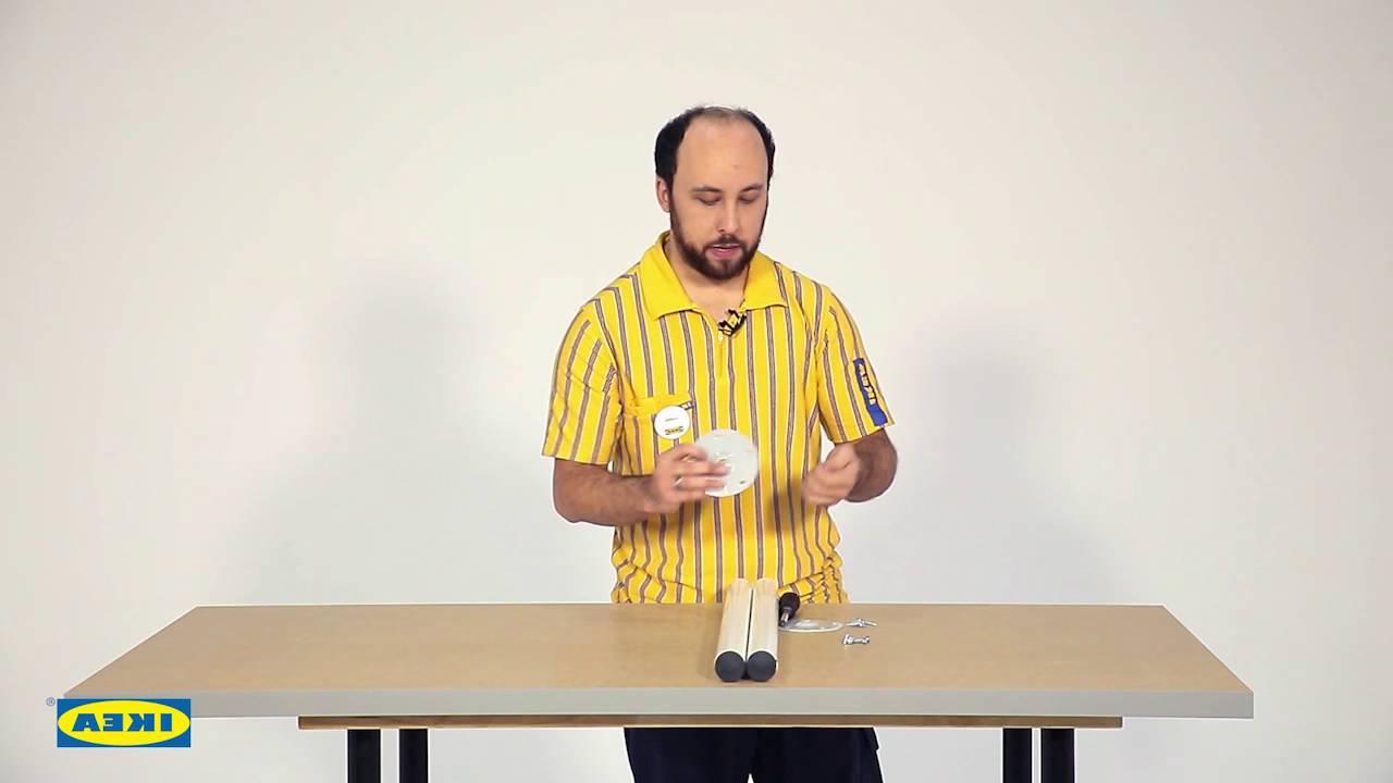 Tablero Mesa Ikea 0gdr Instrucciones De Montaje Del Tablero Linnmon Ikea Youtube
