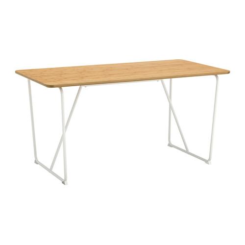 Tablero Mesa Ikea Ffdn à Vraryd Mesa Bambú Backaryd Blanco 150 X 78 Cm Dà Co Studio
