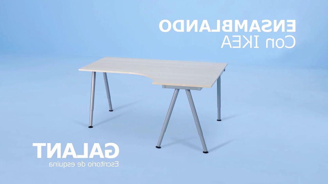 Tablero Mesa Ikea Irdz Paso A Paso Con Ikea Galant Escritorio De Esquina On Vimeo