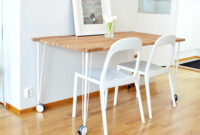 Tablero Mesa Ikea S5d8 Ikea Hack Mesa De Cocina Con Un Tablero De Roble De Bauhaus Y Patas