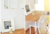 Tablero Mesa Ikea Zwdg Ikea Hack Mesa De Cocina Con Un Tablero Roble Bauhaus Y Patas