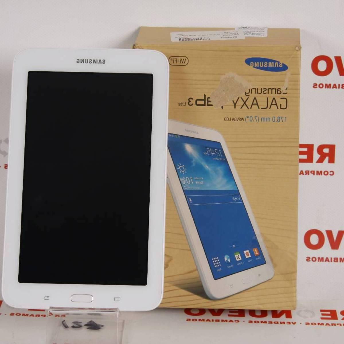 Tables De Segunda Mano Tldn Tablet Samsung Tab 3 8gb Wifi E Renuevo Tienda Online De