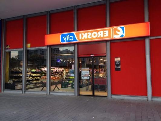 Tablet Eroski S5d8 Eroski City Farmers Market Plaza Porticada 1 Vitoria Gasteiz