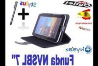 Tablet Eroski Whdr Funda Negra Tablet Nvsbl 7 Universal Barata Carrefour Alcampo