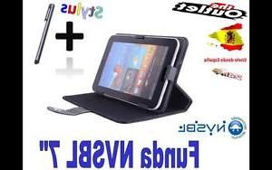 Tablet Eroski Whdr Funda Negra Tablet Nvsbl 7 Universal Barata Carrefour Alcampo