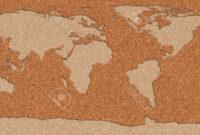 Tablon De Corcho 3ldq Mapa Del Mundo Hecho Con Un Tablà N De Corcho Fotos Retratos