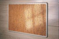 Tablon De Corcho 9ddf Tablà N De Anuncios De Corcho Decorativo Con Perfil De Aluminio