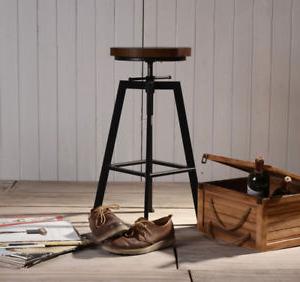 Taburete Regulable Nkde Detalles De 2 Piezas Taburete Regulable De Bar Industrial Vintage Lujo Design Modelo Yako 2