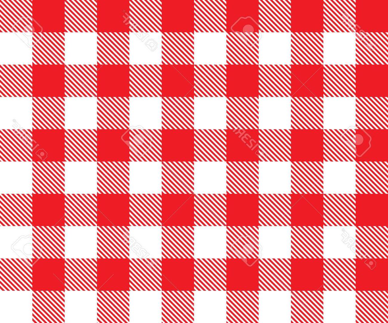 Tela Mantel E6d5 Fondo Mantel Rojo Sin Patrà N Ilustracià N Del Vector Del Tradicional