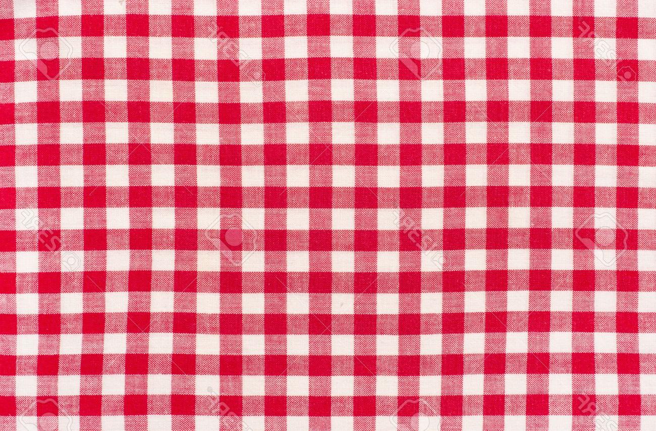 Tela Mantel S1du Cierre En Tela De Mantel A Cuadros Rojo Con Blanco Tartà N Patrà N