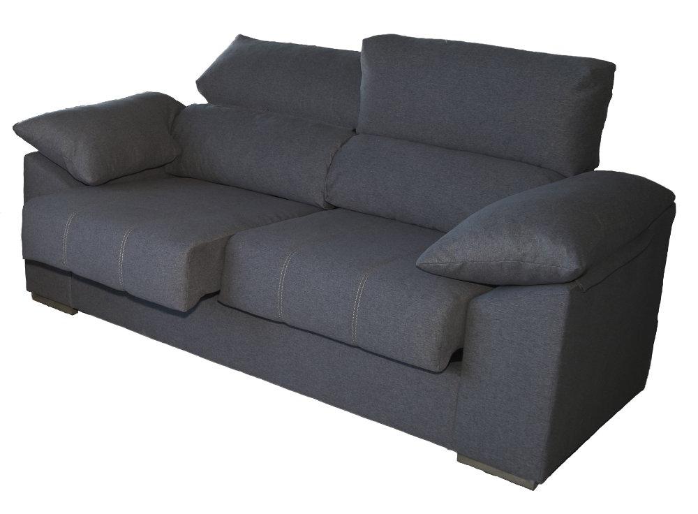 Tela sofa H9d9 sofà 3 Plazas De Tela Daniela Conforama
