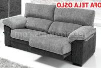 Tela sofa O2d5 sofà Moderno Tela Oslo